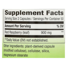 Nature's Way - Red Raspberry Leaves - 100 Capsules