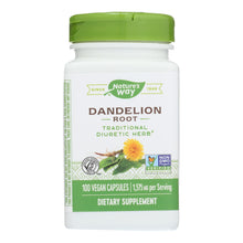 Nature's Way - Dandelion Root - 100 Capsules