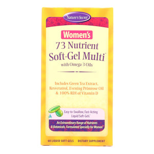 Nature's Secret Women's 73 Nutrient Soft-gel Multi - 60 Softgels
