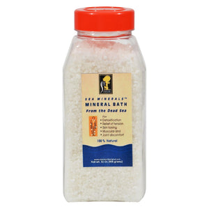 Sea Minerals Bath Salts From The Dead Sea - 2 Lbs