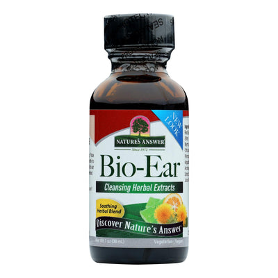 Nature's Answer - Alive And Alert Bio-ear - 1 Fl Oz