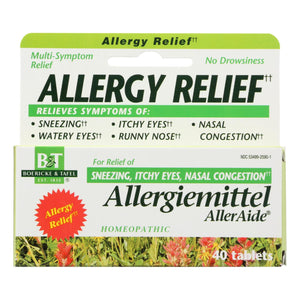 Boericke And Tafel - Allergiemittel Alleraide - 40 Tablets