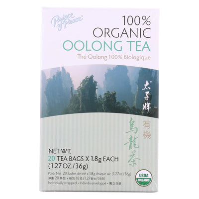Prince Of Peace Organic Oolong Tea - 20 Tea Bags