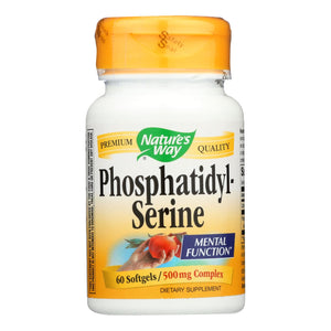 Nature's Way - Phosphatidylserine - 60 Softgels