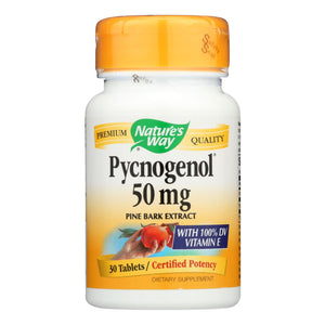 Nature's Way - Pycnogenol - 50 Mg - 30 Tablets