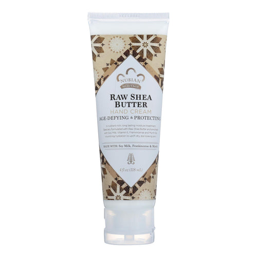 Nubian Heritage Hand Cream - Raw Shea With Frankincense - 4 Oz