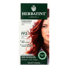Herbatint Haircolor Kit Flash Fashion Crimson Red Ff2 - 1 Kit
