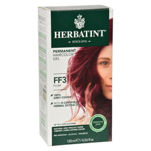 Herbatint Haircolor Kit Flash Fashion Plum Ff3 - 1 Kit