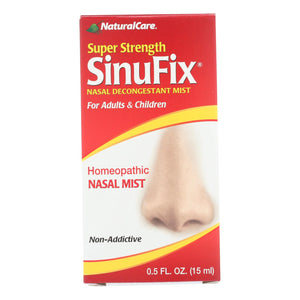Natural Care Sinufix Super Strength - 0.5 Fl Oz