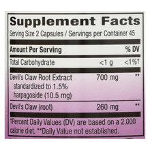 Nature's Way - Devil's Claw Standardized - 90 Capsules