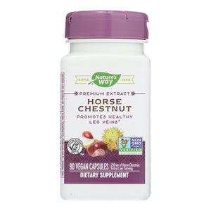 Nature's Way - Horse Chestnut Standardized - 90 Capsules