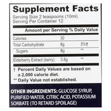 Sambucol - Black Elderberry Syrup Cold And Flu Relief Original - 4 Fl Oz