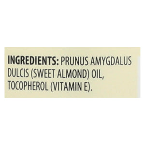 Aura Cacia - Natural Skin Care Oil Sweet Almond - 16 Fl Oz