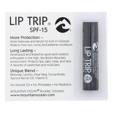 Mountain Ocean - Lip Trip Lip Balm - Spf15 - Case Of 12 - 0.165 Oz.