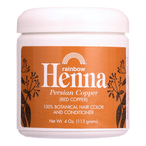 Rainbow Research Henna Hair Color And Conditioner Persian Copper Red Copper - 4 Oz