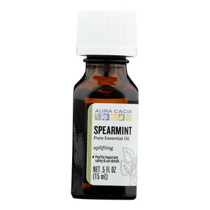 Aura Cacia - Essential Oil Spearmint - 0.5 Fl Oz
