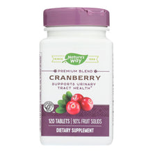 Nature's Way - Standardized Cranberry - 120 Tablets