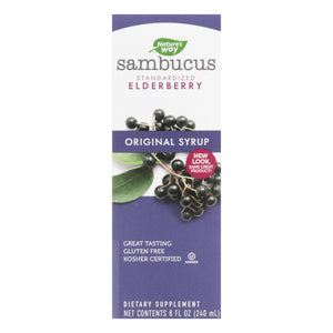 Nature's Way - Sambucus Original Syrup - 8 Fl Oz