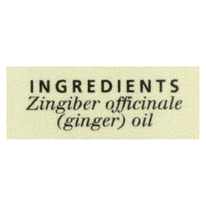 Aura Cacia - Essential Oil Ginger - 0.5 Fl Oz