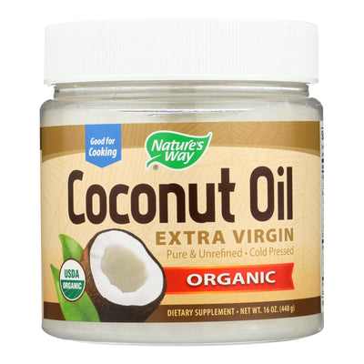 Nature's Way Efagold Coconut Oil - 16 Fl Oz