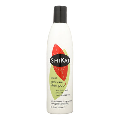 Shikai Natural Color Care Shampoo - 12 Fl Oz