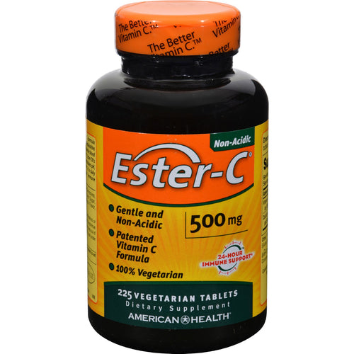 American Health - Ester-c - 500 Mg - 225 Vegetarian Tablets