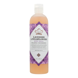 Nubian Heritage Body Wash With Shea Butter Lavender And Wildflowers - 13 Fl Oz