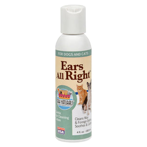 Ark Naturals Ears All Right Cleaning Lotion - 4 Fl Oz