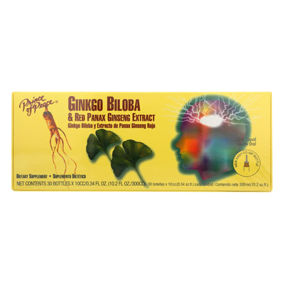 Prince Of Peace Ginkgo Biloba And Red Panax Ginseng Extract - 1 Vial