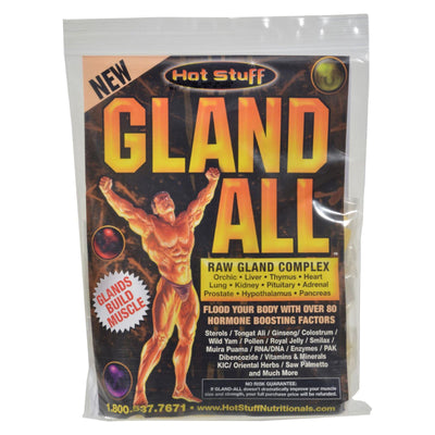 Hot Stuff Gland All Raw Gland Complex - 30 Packets