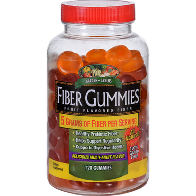 Windmill Health Products Fiber Gummies - Garden Greens - 120 Count