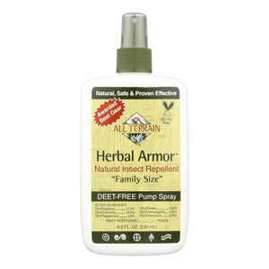 All Terrain Herbal Armor Natural Insect Repellent Family Size - 8 Fl Oz