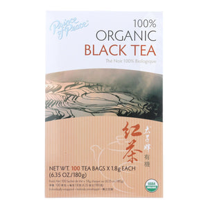 Prince Of Peace Organic Black Tea - 100 Bags