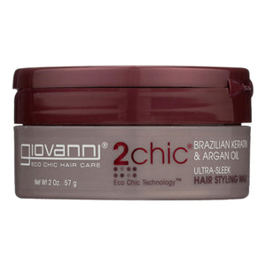 Giovanni Hair Care Products 2chic Hair Styling Wax - Ultra-sleek - 2 Oz