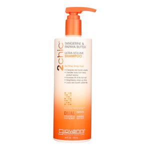 Giovanni Hair Care Products 2chic Shampoo - Ultra-volume Tangerine And Papaya Butter - 24 Fl Oz