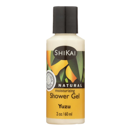 Shikai Products Shower Gel - Yuzu Fruit Trial Size - 2 Oz - Case Of 12