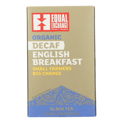 Equal Exchange Organic Black Tea English Breakfast - English Breakfast - Case Of 6 - 20 Bags