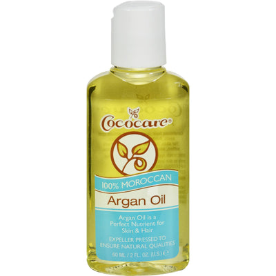 Cococare Argan Oil - 100 Percent Natural - 2 Fl Oz