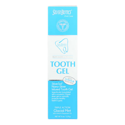 American Biotech Labs Silversol Tooth Gel - Xylitol - 4 Oz