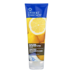 Desert Essence - Hand And Body Lotion - Italian Lemon - 8 Fl Oz