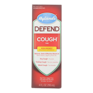 Hylands Homepathic Cough Syrup - Defend - 4 Fl Oz