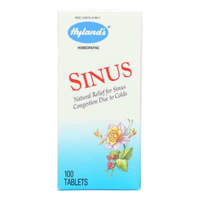 Hylands Homepathic Sinus Relief - 100 Tablets