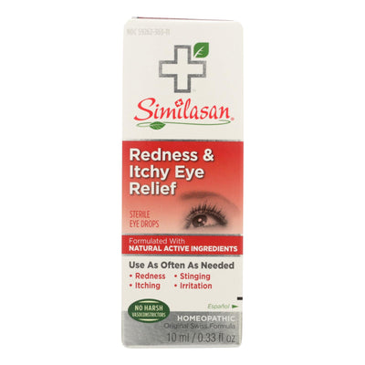 Similasan Redness And Itchy Eye Relief - .33 Oz