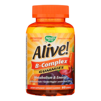 Natures Way B-complex - Alive - Gummies - 60 Count