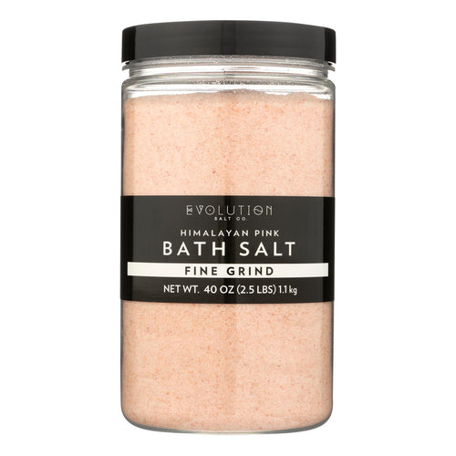 Evolution Salt Bath Salt - Himalayan - Fine - 26 Oz