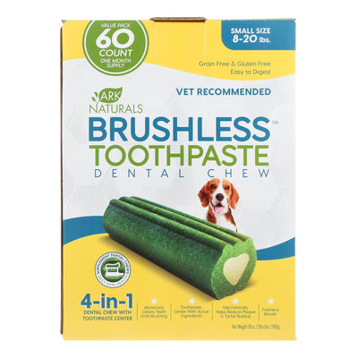 Ark Naturals - Brshls Tpst Dental Chw Sm - 1 Each - 60 Ct