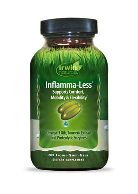 Inflamma-Less® 80 Liquid Soft-Gels