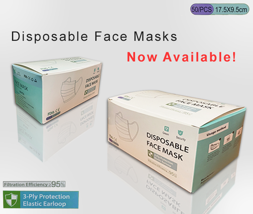 Disposable Protective Mask 50/Box