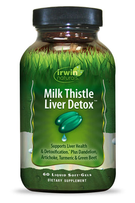 Milk Thistle Liver Detox™ 60 Liquid Soft-Gels