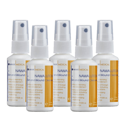 NAWA Skin and Wound Cleanser 50mL (5 pack)